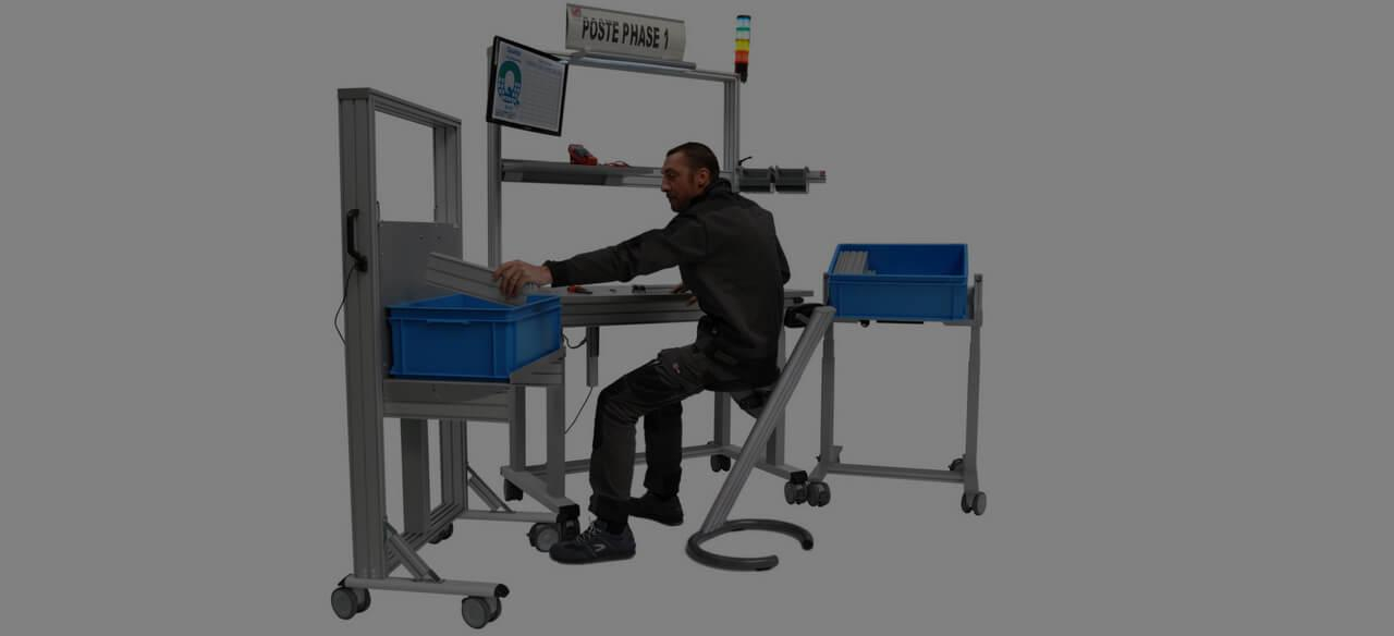 poste de travail industriel posture à adopter