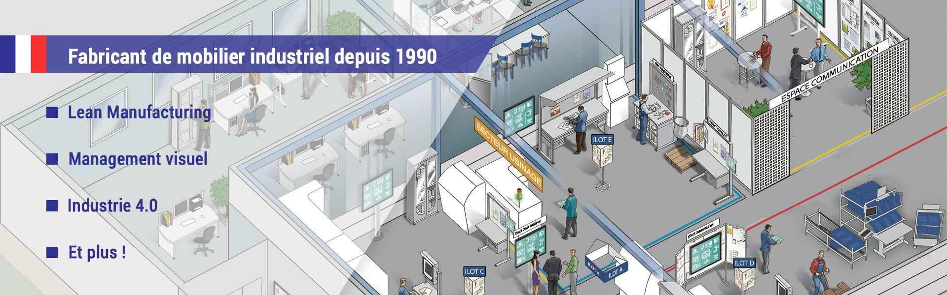 Sesa Systems Fabricant de mobilier industriel depuis 1990