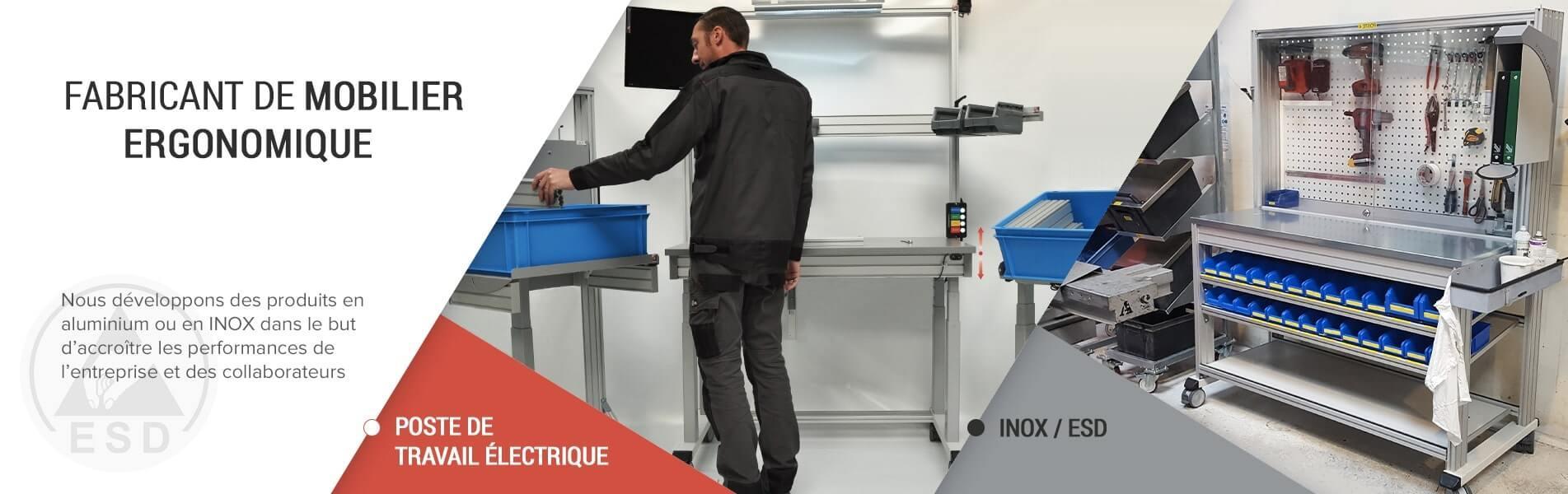 Fabriquant de mobilier ergonomique