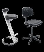 Ergonomische zit/sta-stoel