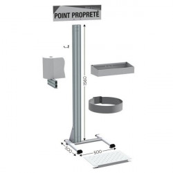 5S cleaning point RVS | NETPOST 450 RVS